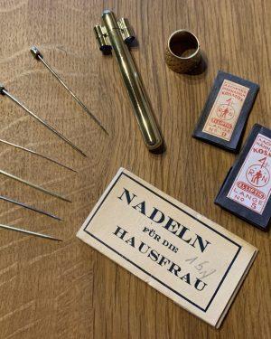 Nadeln und Zubehör